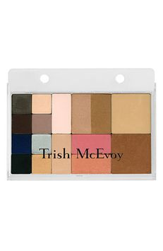 Trish McEvoy Large Refillable Makeup Page - Clear