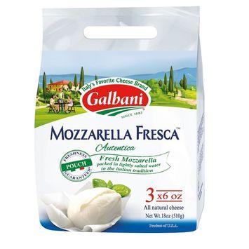 Galbani Fresh Mozzarella Cheese Pouches, 3 pk/6 oz.