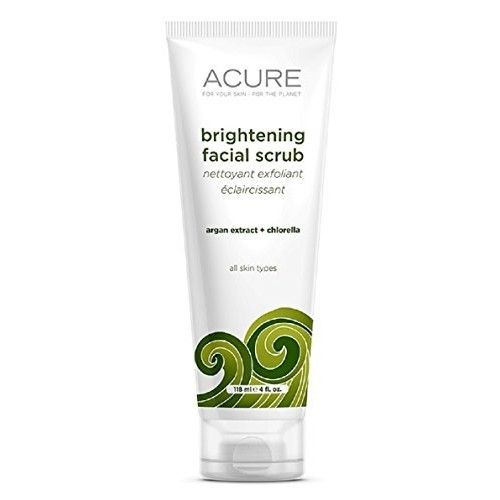 Acure Organics, Brightening Facial Scrub, 4 Oz (120 Ml) By