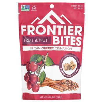 Frontier Snacks Inc. Frontier Bites, Bites Pecan Cherry Cinn, 3.53 Oz (Pack Of 6)