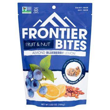 Frontier Snacks Inc. Frontier Bites, Bites Almnd Blueberry Lmn, 3.53 Oz (Pack Of 6)