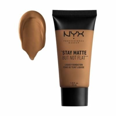 (6 Pack) NYX Stay Matte But Not Flat Liquid Foundation - Deep Olive