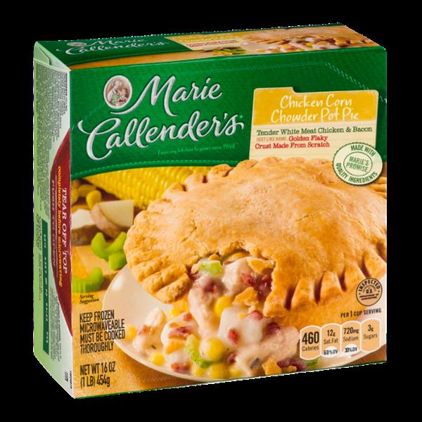 Marie Callender's Chicken Corn Chowder Pot Pie