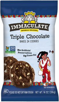 Immaculate® Triple Chocolate Cookies 24 ct Pack