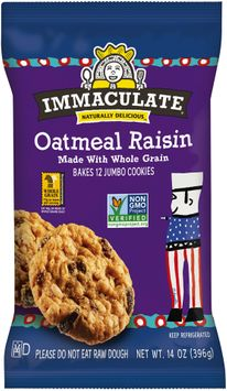 Immaculate® Oatmeal Raisin Cookies 12 ct Pack