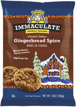 Immaculate® Limited Edition Gingerbread Spice Cookies 24 ct Pack