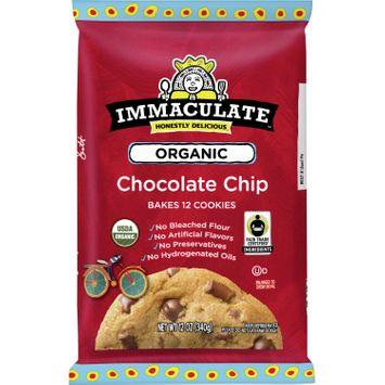 Immaculate Baking Ready To Bake Organic Chocolate Chunk Cookies 12 Ct, 12 oz