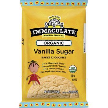 Immaculate Baking Ready To Bake Organic Vanilla Sugar Cookies 12 Ct, 12 oz