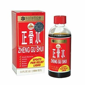 Zheng Gu Shui Sports Pain Relief Liquid, Pack of 6, USA Version