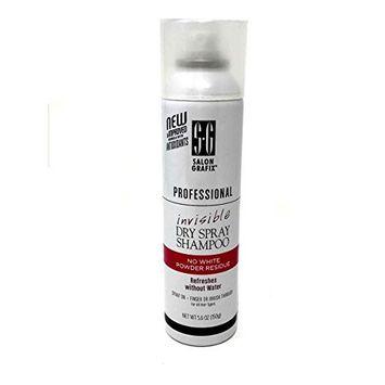 Salon Grafix Invisible Dry Spray Shampoo - 5.6 oz can 034044120998
