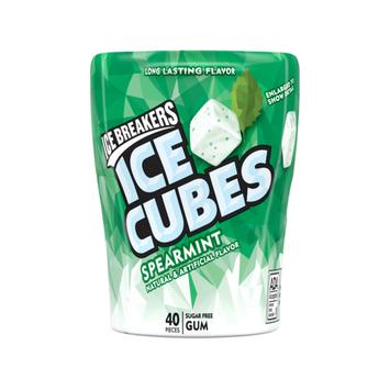 ICE BREAKERS ICE CUBES SPEARMINT GUM