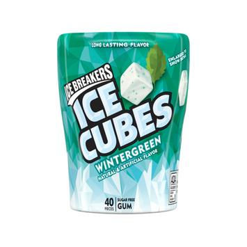 ICE BREAKERS ICE CUBES WINTERGREEN GUM