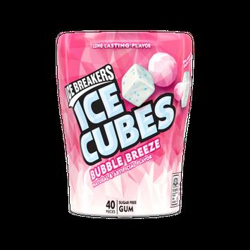 ICE BREAKERS ICE CUBES BUBBLE BREEZE GUM