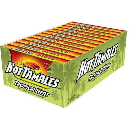 Hot Tamales Tropical Heat Candy, 5 Ounce -- 12 per case.