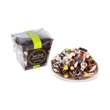 Sweet Secrets Chocolate Pretzel Bark
