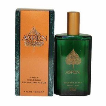 Aspen Cologne Spray for Men 4 fl oz (Pack of 2)