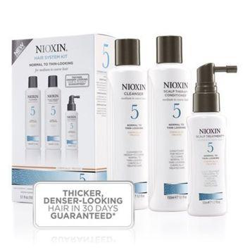 Nioxin System 5 Hair System Kit (Medium to Coarse)