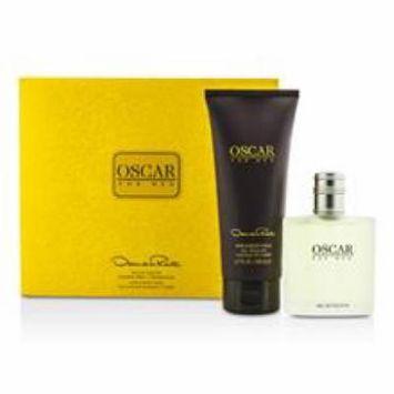 OSCAR DE LA RENTA Oscar Coffret: Eau De Toilette Spray 100ml/3.4oz + Hair & Body Wash Gel 200ml/6.7oz For Men