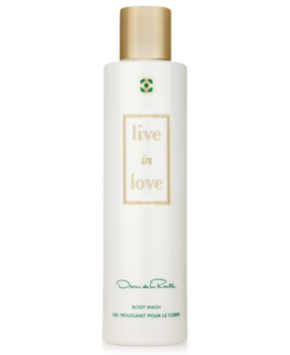 Oscar de la Renta Live in Love Body Wash