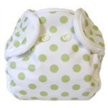Bummis Super Snap Diaper Cover, Celery Dot, Newborn (Discontinued by Manufacturer)