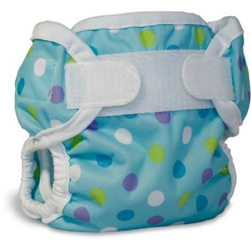Bummis Super Brite Diaper Cover, Blueberry Dot, Small
