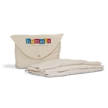 Bummis Organic Cotton Prefolds Diaper, 15-40 Pounds (Discontinued by Manufacturer)