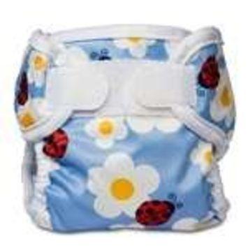 Bummis Super Whisper Wrap Diaper Cover, Ladybug, Newborn (Discontinued by Manufacturer)