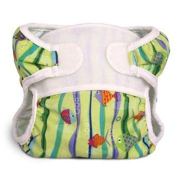Bummis Swimmi Cloth Diapers, Fishies, Large (22-30 lbs)