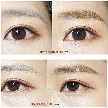 EYX Formula New Year's Makeup Gift set Waterproof Eyebrow Tint Pencil Coffe Gel+Eyeliner Liquid with Brush + Eyeliner Template Shaper