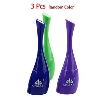 IebeautyWholesale Pack of 3 Long Lasting Waterproof Eyeliner Precision Liquid Eyeliner Smudge Proof Makeup Pencil(Random Color)