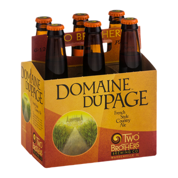 Two Brothers Domaine DuPage French Style Country Ale - 6 CT