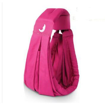 Baby Sling Carrier Fashionable and Comfortable Breastfeeding Nursing Cover(Rose Red)