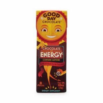 Good Day Chocolate Good Day Chocolate Chocolate with Energy, 8 ea