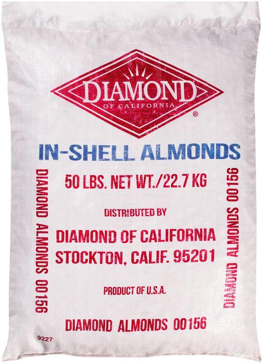diamond of california® in-shell almonds