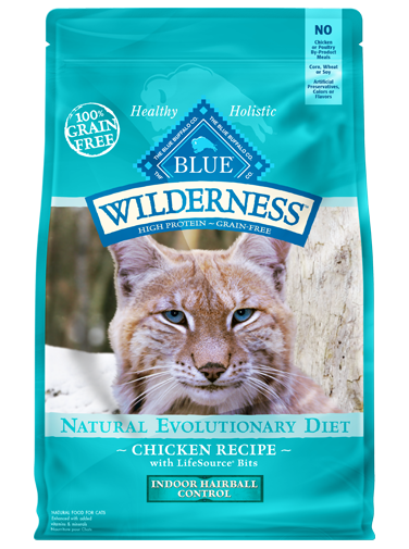 THE BLUE BUFFALO CO. BLUE™ Wilderness® Indoor Hairball Chicken For Adult Cats