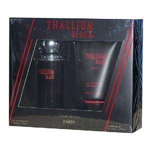 Yves de Sistelle Thallium Black Cologne Set for Men