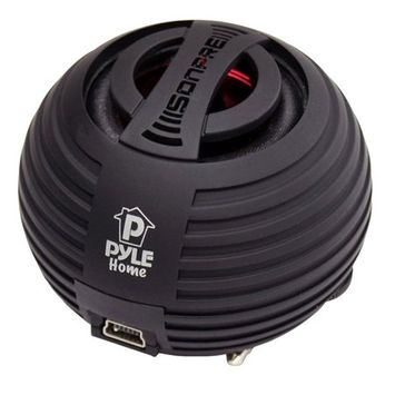 Pylehome Pyle Bass Expanding Chainable Rechargeable Mini Speakers For IPod/IPhone/MP3/Com