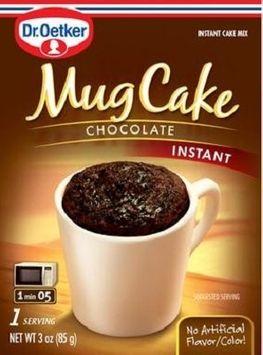 Dr Oetker Organic's MUG CAKE MIX, CHOCOLATE, (Pack of 12)