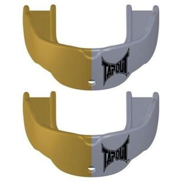 TapouT Mouth Guard Gold/Silver, Youth