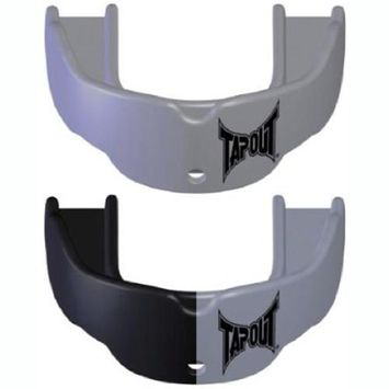TapouT Mouth Guard Silver, Size: Adult