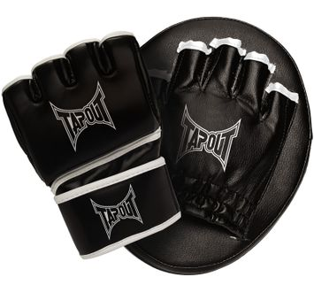 TapouT Youth MMA Glove and Mitt Combo Kit Black