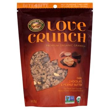 Natures Path Foods Inc Natures Path, Granola Love Cr Dk Chocolate Peanut, 11.5 Oz (Pack Of 6)