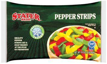 Stater bros Freshly Frozen Pepper Strips