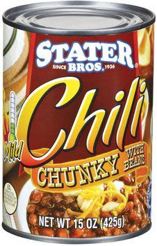 Stater bros Mild Chunky W/Beans Chili
