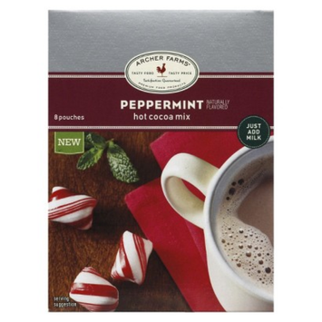 Archer Farms Mint Chocolate Hot Cocoa Mix 8 ct