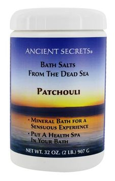 Ancient Secrets - Bath Salts From the Dead Sea Patchouli - 2 lbs.(pack of 6)