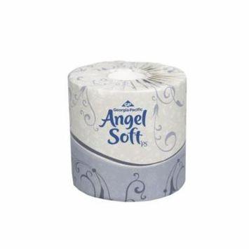 Georgia Pacific Angel Soft PS Ultra Premium Embossed Bath Tissue, 2-Ply, White