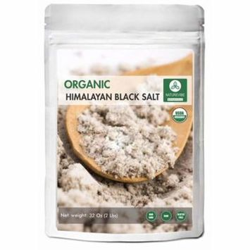 100% Natural & Healthy Himalayan Black Salt (2lb) by Naturevibe Botanicals