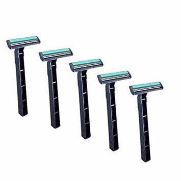Anti Skin Damage Men's Facial Hair Disposable Razor Blade - 10 Pack