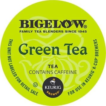 Bigelow K-Cup Portion Pack for Keurig Brewers, Green Tea, 24 Count [Green Tea]